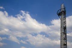 komin futurystyczny Zdjęcie Royalty Free
