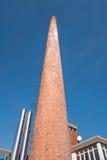 komin przemysłowe Obrazy Royalty Free