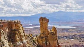 Komin skała, Nowa - Mexico Zdjęcie Stock