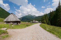 Kominiarski Wierch from Dolina Chocholowska. Royalty Free Stock Photography
