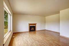 kominka pusty pokój Zdjęcia Stock
