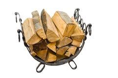 kominków drewna Zdjęcia Stock