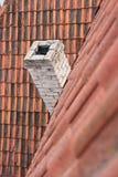 kominowa dachowa płytka Fotografia Stock