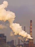 kominowy dymienie Zdjęcie Stock