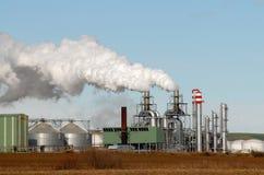 kominowy ecjando fabryki dym Zdjęcia Stock
