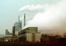 kominowy nadchodzący fabryczny stary dym stary Obrazy Stock