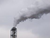 kominowy przemysłowy dymienie Obrazy Stock