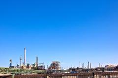 kominowy przemysłu parka silos Fotografia Royalty Free