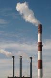 kominy dymiący Fotografia Stock