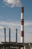kominy dymiący Zdjęcie Royalty Free