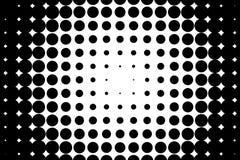 Komisch, Karikaturhintergrund Pop-Arten-Art Muster mit kleinen Kreisen, Punkte Punktiertes Muster des Halbtons lizenzfreie abbildung