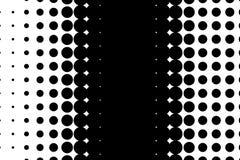 Komisch, Karikaturhintergrund Pop-Arten-Art Muster mit kleinen Kreisen, Punkte Punktiertes Muster des Halbtons vektor abbildung
