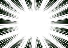 Komisch und manga bucht Geschwindigkeitslinien Hintergrund Superheldaktion, Explosionshintergrund Rebecca 6 lizenzfreie abbildung