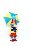 Komische Clown Royalty-vrije Stock Foto's