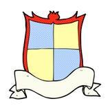 komische Karikatur der Wappenkunde Lizenzfreie Stockbilder
