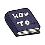 komische Karikatur, wie man bucht stock abbildung