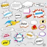 Komische Sprache-Blase Lizenzfreie Stockfotos