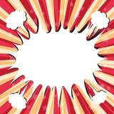 Komischer Hintergrund des Booms Lizenzfreie Stockfotos