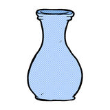 komischer Karikaturvase vektor abbildung