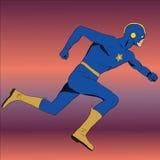 Komischer Superheld Stockfotografie