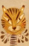 Komischer Tiger Stockbilder