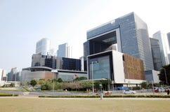 Komisja Ustawodawcza kompleks, Hong kong Obrazy Stock