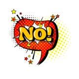 Komisk Art Style No Expression Text för pop för anförandepratstundbubbla symbol Arkivbild