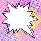Komisk bubbla för dialog stock illustrationer