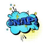 Komisk pop Art Style Social Media Communication för symbol för Stciker pratstundbubbla Arkivfoto