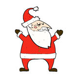 komisk tecknad film Santa Claus Royaltyfria Foton