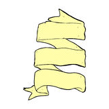 komisk tecknad film snirkelbaner för tre lager Arkivfoton