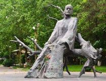 Komitas纪念碑在耶烈万 库存图片