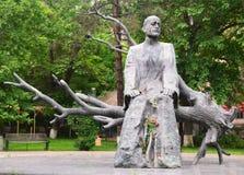Komitas纪念碑在耶烈万 免版税库存图片