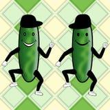 Komkommerpartij Royalty-vrije Stock Afbeeldingen
