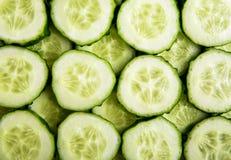 Komkommerplakken Royalty-vrije Stock Afbeeldingen