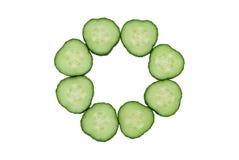 Komkommers Royalty-vrije Stock Fotografie