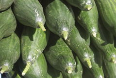 Komkommerstapel Stock Foto