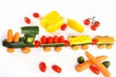 Komkommertrein Stock Fotografie