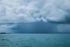 Komma för hällregn Fotografering för Bildbyråer