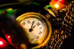 kommande nytt år Royaltyfria Foton