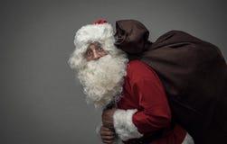 kommande santa Fotografering för Bildbyråer