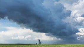 kommande storm Arkivbilder