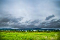 kommande storm Royaltyfri Fotografi