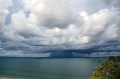 kommande storm Arkivfoto