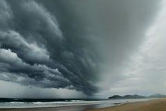 kommande storm Royaltyfri Bild