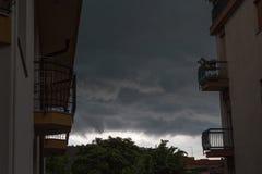 kommande storm Royaltyfria Bilder