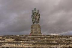 Kommando-Denkmal stockfotos