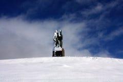 Kommando-Krieg-Denkmal stockfotos