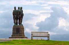 Kommandominnesmärke, Skottland Royaltyfri Fotografi