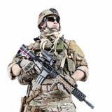 Kommandosoldat för USA-armé Royaltyfri Fotografi